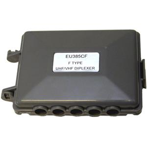 Antennas Direct UHF / VHF TV Antenna Combiner Box EU385CF