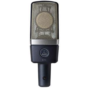 AKG C214 Edge-Terminated Large Diaphragm Studio/Stage Condenser Microphone 3185Z00010