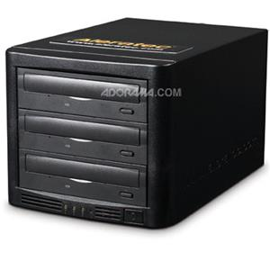 Aleratec 1:3 20x DVD/CD LightScribe HLS Tower Publisher 260162