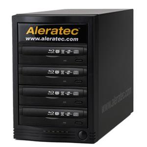 Aleratec 1:4 Blu-Ray/DVD/CD Tower Publisher HLS Duplicator 260165
