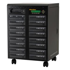 Aleratec 1:15 Blu-Ray/DVD/CD Tower Publisher SLS Duplicator 260203