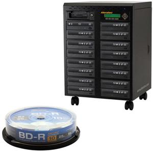 Aleratec 1:15 Blu-Ray/DVD/CD Tower Publisher SLS Duplicator 260203 K