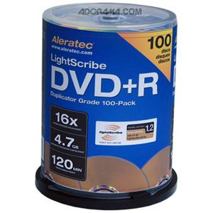 Aleratec DVD+R 16x V1.2 Duplicator Grade Media: Picture 1 regular
