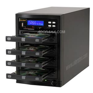 Aleratec 1:3 DVD/CD Flash Copy Tower USB Flash Drive/Memory Card Copier and Duplicator 310108