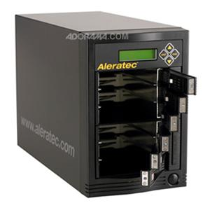 Aleratec 1:5 HDD Cruiser Hard Disk Drive Duplicator and 6 HDD Sanitizer 350104