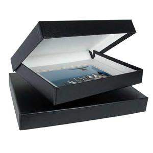 Archival Methods Onyx 8x10x2 inch Portfolio Box, Black: Picture 1 regular
