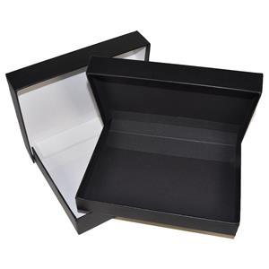 "Archival Methods Onyx 13x19x1-3/8"" Portfolio Box 11015"