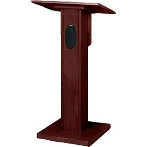AmpliVox S355MH Elite Lectern with 50W Speaker,Mahogany: Picture 1 regular