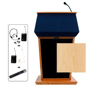 AmpliVox SW3040 Wireless Patriot Lectern SW3040-MP-HS