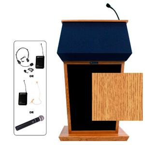 AmpliVox SW3040 Wireless Patriot Lectern SW3040-OK-HS