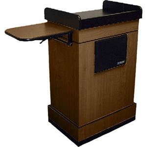 AmpliVox SW3230 Wireless Multimedia Computer Lectern SW3230-WT-L