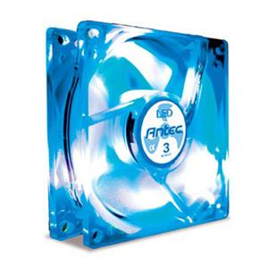 Antec TriCool 80mm Blue LED 3 Speed Fan TRICOOL80BLUELED