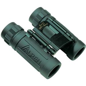 Alpen 8x21 Sport Roof Prism Binocular, Green Rubber: Picture 1 regular