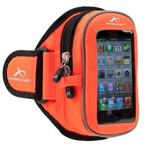 Armpocket Sport i-20 Medium Armband, Orange: Picture 1 regular