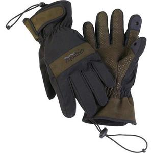 AquaTech Sensory XL Gloves, 9-9.5in - Black/Moss: Picture 1 regular
