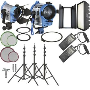 Arri H-4 Hybrid AC Kit With Wheels, 120-230VAC: Picture 1 regular