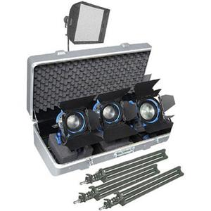 Arri Softbank D2 Three Light Tungsten Fresnel Kit 571861W