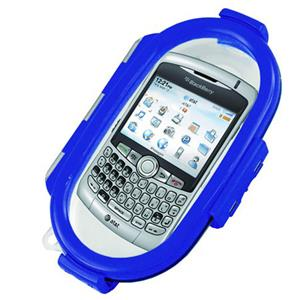 Aryca Whirl Waterproof Case for Larger Basic Phones, Blue: Picture 1 regular