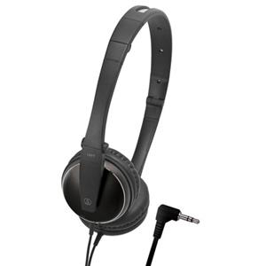 Audio-Technica ATH-ES33BK On-Ear Headphone, Black: Picture 1 regular