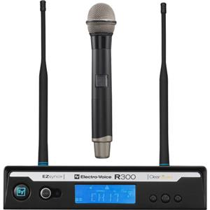 Electro-Voice R300-HD-B Handheld Wireless Microphone System F.01U.168.769