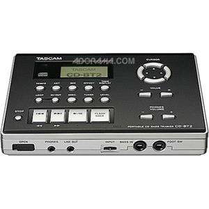 Tascam Bass Trainer and Portable CD Player CD-BT2