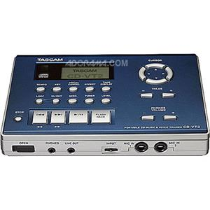 Tascam Music and Voice Trainer and Portable CD Player CD-VT2