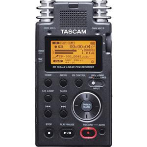 Tascam DR-100 Portable 2-Channel Linear PCM Recorder DR100MKII