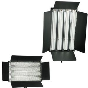 Alzo Digital Pan-L-Lite Quad Video Light, 5600K Bulbs: Picture 1 regular