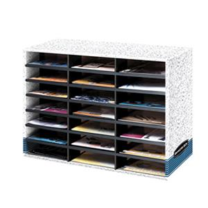 Bankers Box 21-Compartment Literature Sorter, Letter: Picture 1 regular