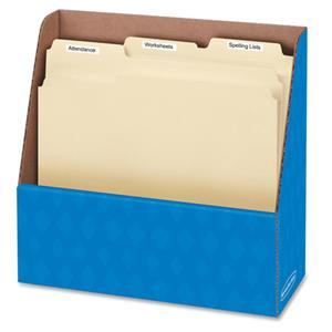 Bankers Box Compartment Folder Holder, Blue - Pack of 12: Picture 1 regular