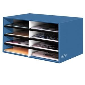 Bankers Box 8 Compartment Literature Sorter 6110301