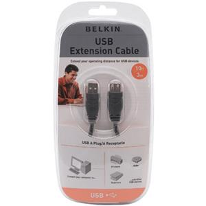 Belkin A to B USB Extension Cable, 10 Feet: Picture 1 regular