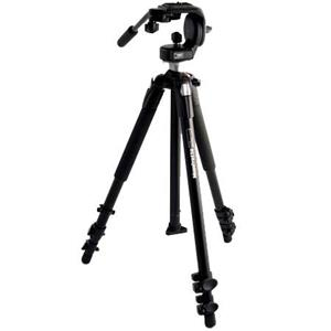 Manfrotto 190XB 3 Section Black Aluminum Tripod Legs 190XB,128RC