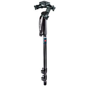 Manfrotto 679B/3025 Black Anodized Monopod, Junior Head: Picture 1 regular