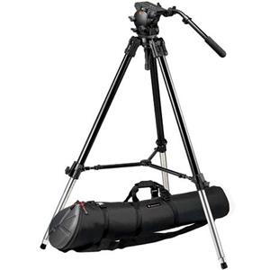 Manfrotto 528XB Heavy Duty Video / Movie Tripod 526,528XBK
