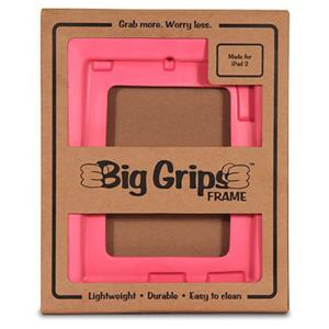 Big Grips Frame for iPad 2, iPad 3 & iPad 4 - Pink: Picture 1 regular
