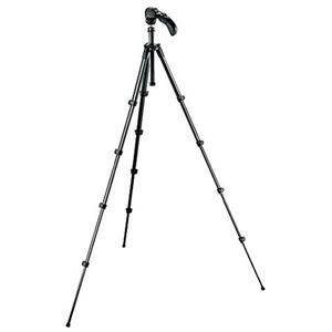 Manfrotto MKC3-H01 Compact 5 Section Photo/Video Tripod Kit MKC3-H01
