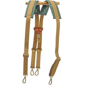 Billingham Backpack Harness for Packington Bags, Khaki: Picture 1 regular