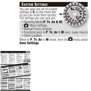 PhotoBert Photo CheatSheet, PowerShot S2 Digital Camera: Picture 1 regular