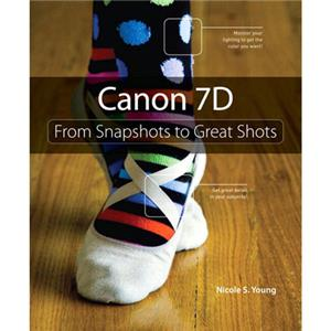 Peachpit Press: Canon EOS 7D, 288 Page, Nicole S. Young: Picture 1 regular