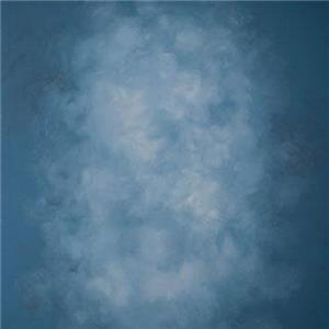 Adorama Background Canvas 7 x 8 Ft, Blue: Picture 1 regular