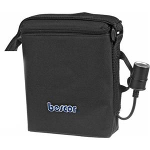 Bescor MM-12, 12v / 12 Amp Shoulder Battery Pack with Cigarette Socket Outlet: Picture 1 regular
