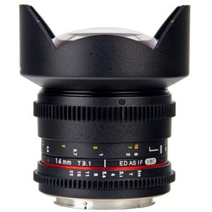 Bower Super-Wide 14mm T/3.1 Digital Cine Lens