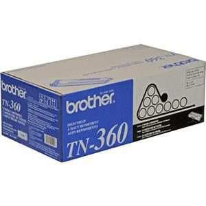 Brother TN360 High Yield Black Toner Cartridge TN360