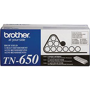 Brother TN650 Black Toner Cartridge: Picture 1 regular