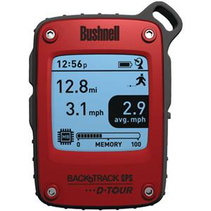 Bushnell BackTrack D-Tour Personal GPS Tracking Device, Red: Picture 1 regular