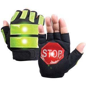 Brite Strike BSTI-ITG08 Traffic Safety Gloves, Large: Picture 1 regular