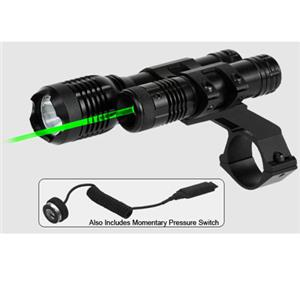 BSA Optics 532nm Green Laser Sight & Light LLGCP