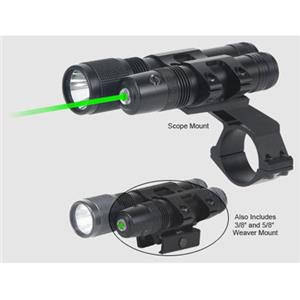 BSA Optics Stealth Tactical Green Laser Sight & 140 Lumen Flashlight STSLLGCP