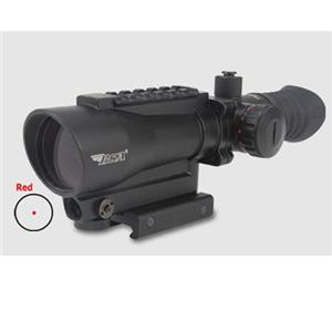 BSA Optics 1x30mm Tactical Weapon Illuminated Red Dot Scope TW30RDL